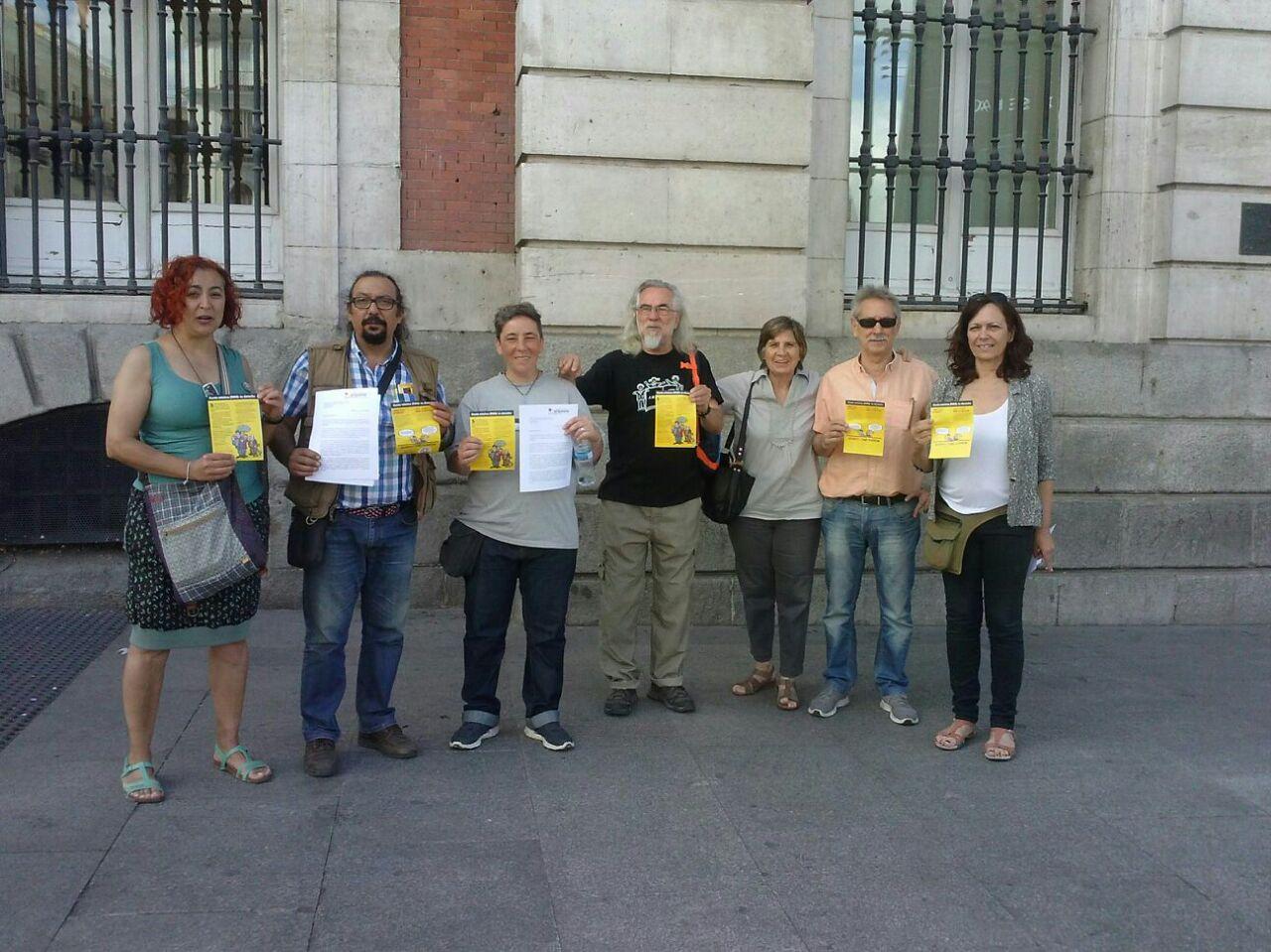 entrega campaña RMI Comunidad de Madrid